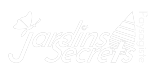 Logo Jardins Secrets Blanc